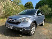 Honda, CR-V, Estate, 2008, Diesel, 90K Miles, Full History, 4WD, Top Spec