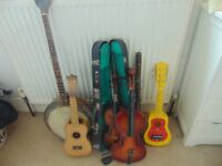 Musical Instruments spares/repair/decoration