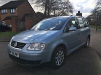 2006 VOLKSWAGEN TOURAN 1.9 TDI 7 SEATER FULL SERVICE HISTORY WELL MAINTAINED
