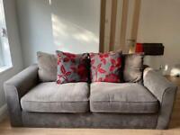 Grey furniture village sofa