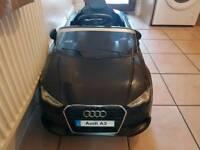 Audi a3 parental remote ride on