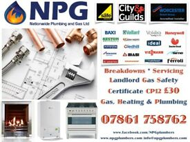 Gas +Plumbing +Landlord Certs £30 +Call Out +Breakdowns +Repairs +New Boiler from 1K *07861758762*
