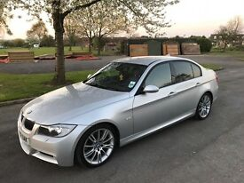 2008 BMW 330D M SPORT SALOON *FULL BMW HISTORY, FULLY LOADED,Audi,Bmw,VXR,AMG,Mercedes,S3,GTI