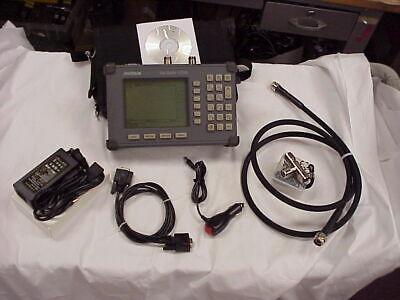 Anritsu Sitemaster S251b Twoport Transmission Cable Antenna Analyzer Biastee 10a