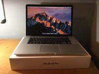 Late 2013 Apple Macbook Pro 15 Retina Display i7 2Ghz, 8GB, 256GB SSD, 1.5GB GPU