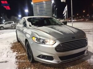 2016 Ford Fusion SE AWD Leather, Nav, Moonroof, 21000KM