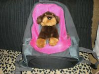 puppy/small dog travelling ruck sack