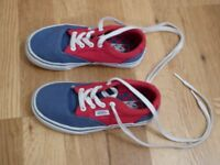 Children's classic VANS trainers /shoes. Size 11 - 11.5. Worn a couple of times. EXCELLENT condition