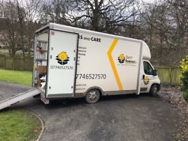 Pontefract House and Office removals, Man and Van ,Clearance services