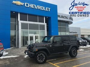 2015 Jeep WRANGLER UNLIMITED Rubicon 4X4 MANUAL AIR LEATHER 2-TO