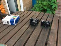[2 x Cameras] 1 x Olympus SP Series SP-800UZ 14 MP, And, 1 x Olympus SZ-10