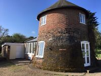 18th Century Smock Mill holiday cottage Wickham Market Suffolk available W/C 22nd & 29th July
