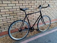 HACKNEY CYCLE SINGLE SPEED BIKE NEW TYRES NEW BRAKES NEW CABLES