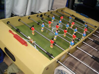 FOOTBALL TABLE and SNOOKER/POOL TABLE