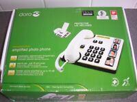 DORO MEMORY PLUS AMPLIFIED PHOTO PHONE