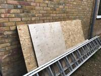 OSB sheets/boards x 4