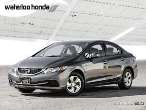 2013 Honda Civic LX Sold Pending Delivery...One Owner. Automa...