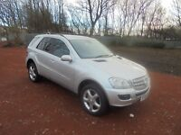 MERCEDES ML 1 YEAR M.O.T GREAT VALUE 4X4 AUTOMATIC