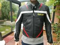 Arlen Ness leather mortobike jack