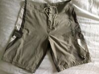"Mens Animal board shorts. Good condition. 32"" waist. Grey/ cream colour."
