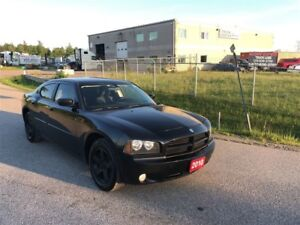 2010 Dodge Charger SXT /1 YEAR WARRANTY / BLACK ON BLACK / CLEAN