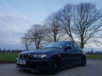 2003 Black BMW 330D M Sport Automatic Fully Loaded
