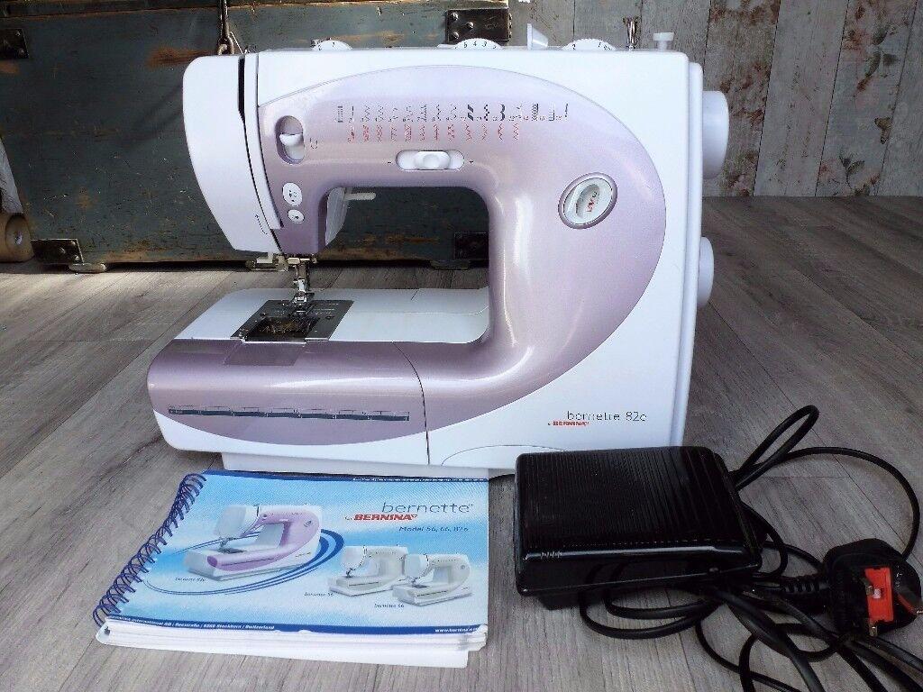 Bernina Bernette 82e sewing machine.