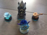 Skylanders adventure pack Tower of Time plus character