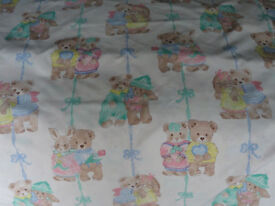Cot Bumper Quilt Cover Curtains Pillow and Case