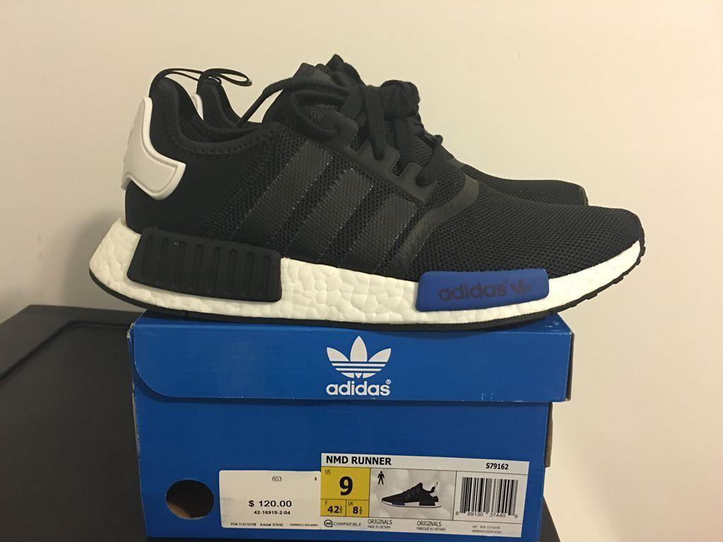 adidas NMD R1 Blue Mesh Black BOOST | Adidas shoes nmd