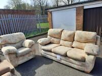 Sofa with armchair