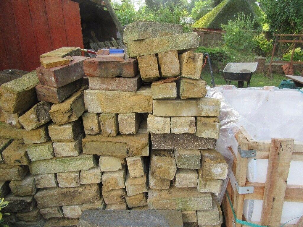Bradstone Garden wall bricks approximately 2 to 300 will need ...