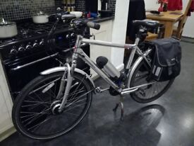Electric Bike Bicycle X Bike 21inch gents