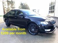 Skoda Octavia Black Edition (VRS A4 A5 Jetta Passat 320D 530D) £209 per month