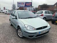 03 FORD FOCUS LX 1.6 PETROL IN GREEN *12 MONTHS MOT* £595