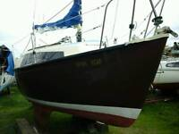 Invader 20 bilge keel yacht