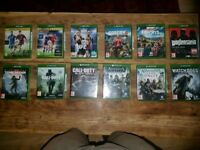 12 Xbox one games inc. Far cry 5 & COD