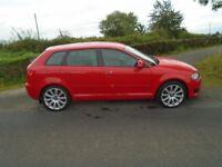 09 audi A3 2.0 tdi quattro 4 wheel drive 170 b h pwr 6 sp full spec