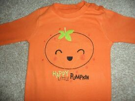 Halloween Outfit/Sleepsuit Age 6-9 months