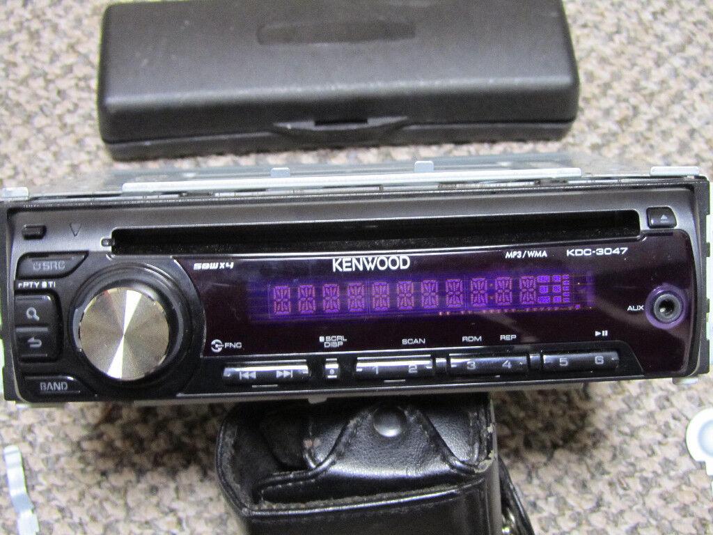 Car Radio Cd Kenwood In Wallsend Tyne And Wear Gumtree Stereo Audio
