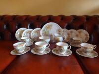 """The Old Mill Stream"" Royal Standard fine bone china Tea service"