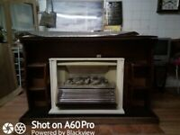 Magicoal electric heater with fire surround