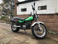 Green Suzuki VanVan 125