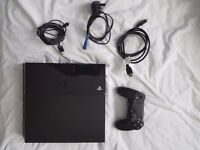 Selling Black PS4 500GB