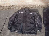 Frank Thomas AquaPore Motorcycle Waterproof Jacket and Trousers