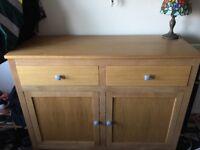 Oak sideboard / Hall cabinet