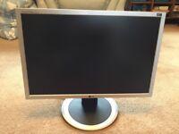 LG flat screen computer monitor
