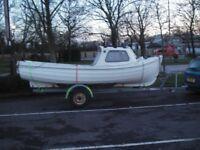 Orkney Longliner 16 fishing boat £2995.