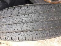 175/R14 C tyre and wheel for sale
