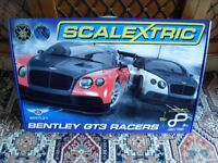 Still for sale 10/12/17. Brand New in Box **Never Opened**. Scalextric Bentley GT3 Racers Set.